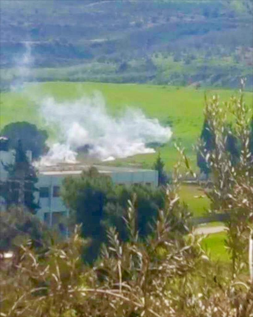 Settler attack on Burin school